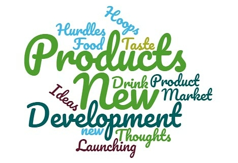 New Product Development word-cloud